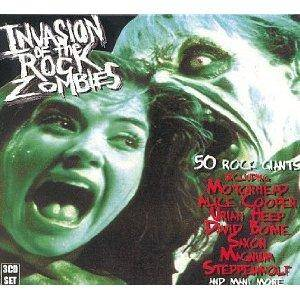 Invasion Of The Rock Zombies - Cover