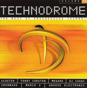 Cover - Crw Pres. Veronika: Technodrome Vol. 13