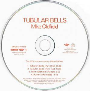 Mike Oldfield: Tubular Bells (CD) - Bild 5