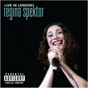 Regina Spektor: Live In London - Cover