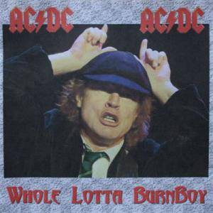 AC/DC: Whole Lotta Burnboy - Cover