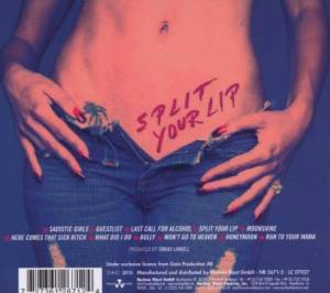 Hardcore Superstar: Split Your Lip (CD) - Bild 2