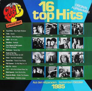 Cover - Round One: Club Top 13 - 16 Top Hits - September / Oktober 1985