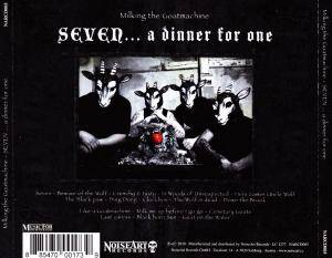 Milking The Goatmachine: Seven ... A Dinner For One (CD) - Bild 3