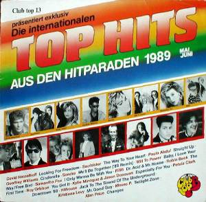 Cover - Kylie Minogue & Jason Donovan: Club Top 13 - Top Hits Aus Den Hitparaden 1989 Mai / Juni