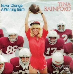 Cover - Tina Rainford: Never Change A Winning Team