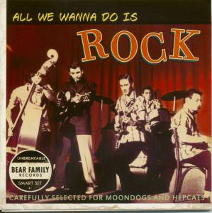 Cover - Treniers, The: All We Wanna Do Is Rock - 35th Anniversary