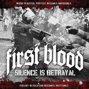 First Blood: Silence Is Betrayal - Cover