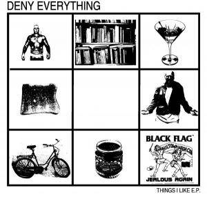 Cover - Deny Everything: Things I Like EP