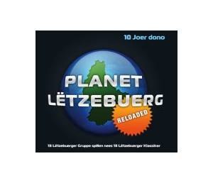 Cover - Eternal Tango: Planet Lëtzebuerg Reloaded