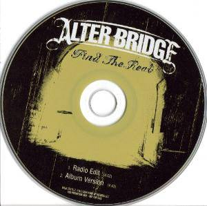 Cover - Alter Bridge: Find The Real