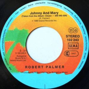 "Robert Palmer: Johnny And Mary (7"") - Bild 3"
