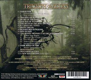 Rhapsody Of Fire: Triumph Or Agony (CD) - Bild 2