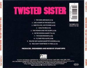 Twisted Sister: You Can't Stop Rock'n'Roll (CD) - Bild 2