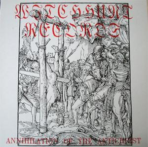 Cover - Various Artists/Sampler: Annihilation Of The Antichrist