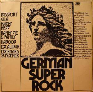 Cover - Hardy Hepp: German Super Rock