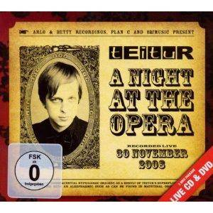 Cover - Teitur: Night At The Opera, A