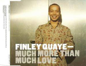 Cover - Finley Quaye: Much More Than Much Love
