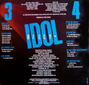 Billy Idol: Rebel Yell (LP) - Bild 4