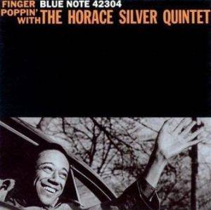 Horace Silver Quintet: Finger Poppin' With The Horace Silver Quintet - Cover