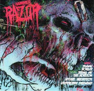 Cover - Bleed From Within: Metal Hammer 213 - Razor