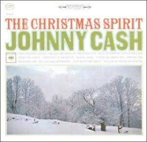 Johnny Cash: Christmas Spirit, The - Cover