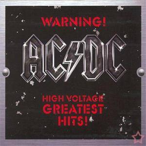 AC/DC: Warning ! High Voltage - Greatest Hits! - Cover
