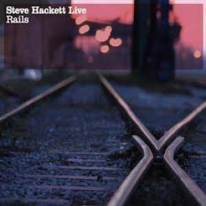 Steve Hackett: Live Rails - Cover