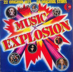 Music Explosion - 22 Original Hits - Cover