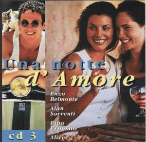Una Notte D`amore Cd3 - Cover