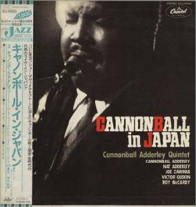 Cover - Cannonball Adderley: Cannonball In Japan