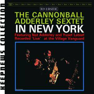 The Cannonball Adderley Sextet: In New York - Cover