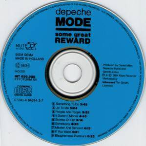 Depeche Mode: Some Great Reward (CD) - Bild 3