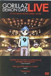 Cover - Gorillaz: Demon Days - Live At The Manchester Opera House