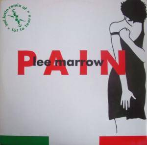 Cover - Lee Marrow: Pain