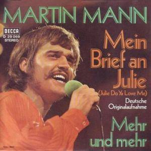 Cover - Martin Mann: Mein Brief An Julie