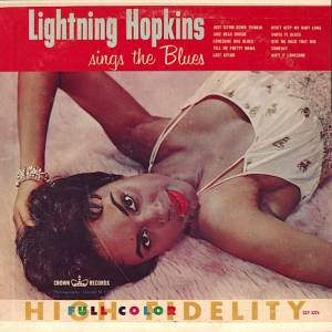 Cover - Lightnin' Hopkins: Lightnin' Hopkins Sings The Blues