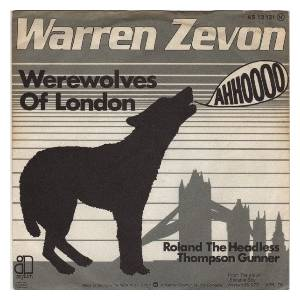 Warren Zevon: Werewolves Of London - Cover