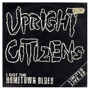 Cover - Upright Citizens: I Got The Hometown Blues