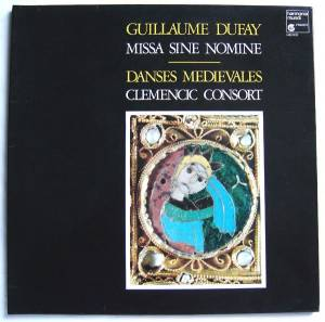 Cover - Guillaume Dufay: Missa Sine Nomine