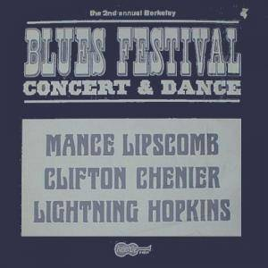 Cover - Mance Lipscomb: Blues Festival - Concert & Dance / The 2nd Annual Berkeley