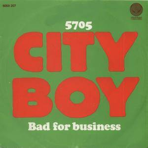 "Cover - City Boy: ""5.7.0.5."""