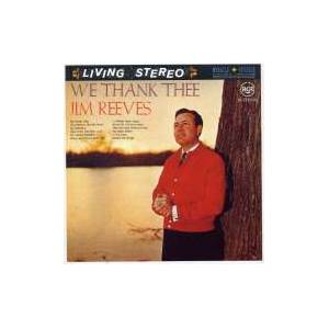 Cover - Jim Reeves: We Thank Thee