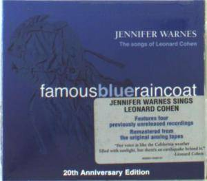 Jennifer Warnes: Famous Blue Raincoat 20th Anniversary Edition (CD) - Bild 1