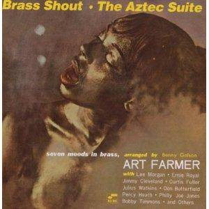 Cover - Art Farmer: Brass Shout / Aztec Suite