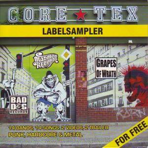 Cover - Bite The Bullet: Core Tex Labelsampler