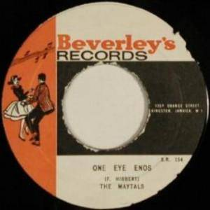 Cover - Maytals, The: One Eye Enos