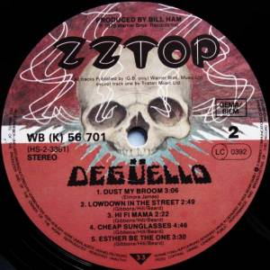 ZZ Top: Degüello (LP) - Bild 6