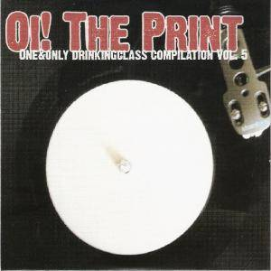 Oi! The Print - One & Only Drinkingclass Compilation Vol. 5 - Cover