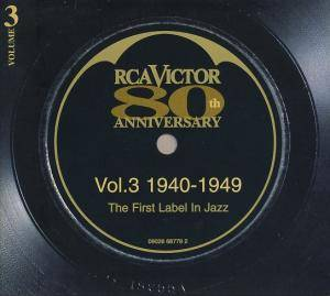 Cover - Coleman Hawkin' All Star Octet: RCA Victor 80th Anniversary - Vol.3 1940-1949